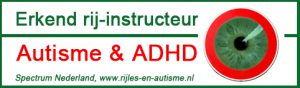"Erkend rij-instructeur ""Autisme & ADHD"" Spectrum Nederland"
